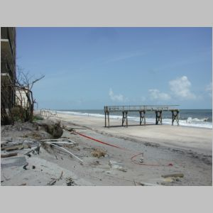 Beach dive locations after the hurricanes 14 oct 2004 for Vero beach fishing pier