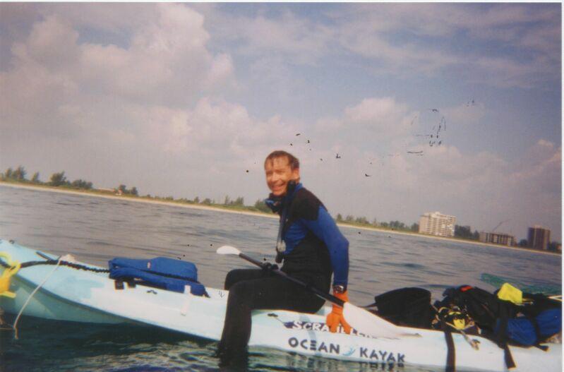 Kayak Diver Debi