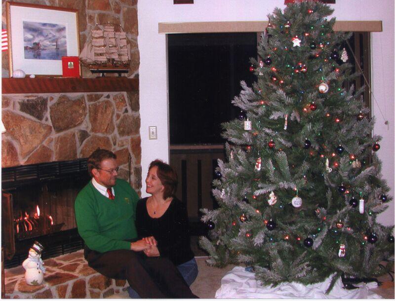 George & Laura - Christmas 2002