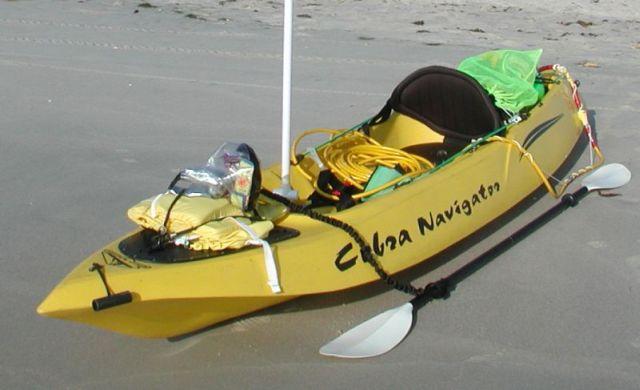 The Irishmans Dive Kayak Ready to go