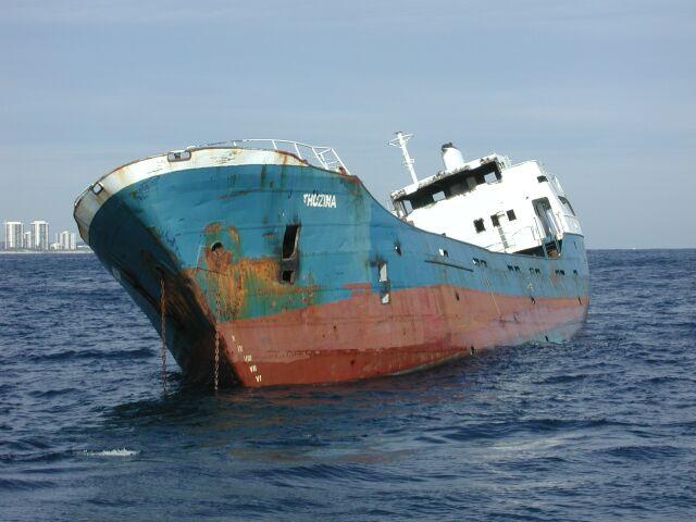 Sinking of the M.V. Thozina